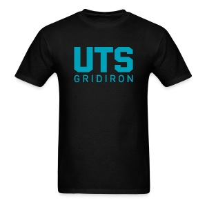 Men's UTS Gridiron Regular T-shirt - Black - Men's T-Shirt