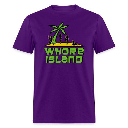 Archer Whore Island Shirt - Men's T-Shirt