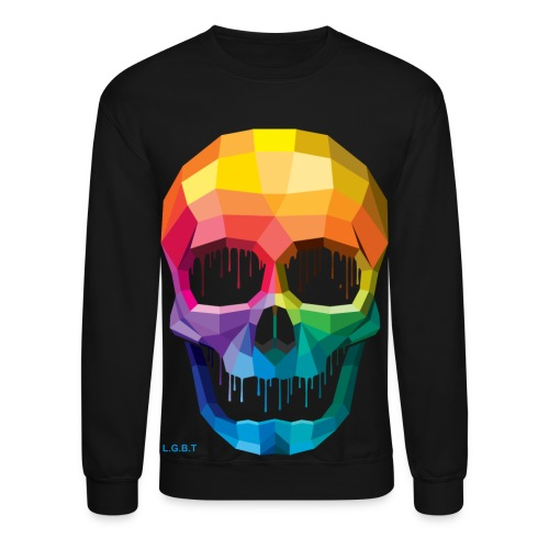 Skulled Gay - Crewneck Sweatshirt