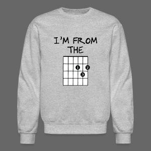 Detroit Guitar Shirt - Crewneck Sweatshirt