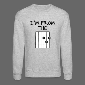 Detroit Guitar Shirt - Crewneck Sweatshirt