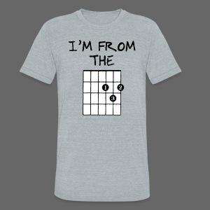 Detroit Guitar Shirt - Unisex Tri-Blend T-Shirt