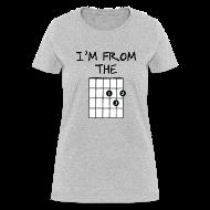Women's T-Shirts ~ Women's T-Shirt ~ Detroit Guitar Shirt