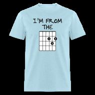 T-Shirts ~ Men's T-Shirt ~ Detroit Guitar Shirt
