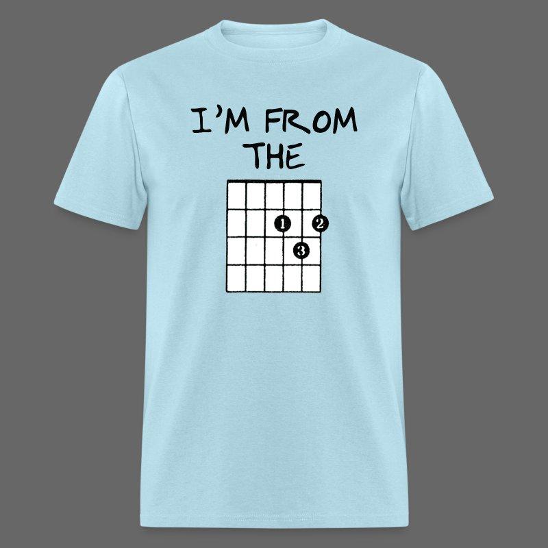 Detroit Guitar Shirt - Men's T-Shirt