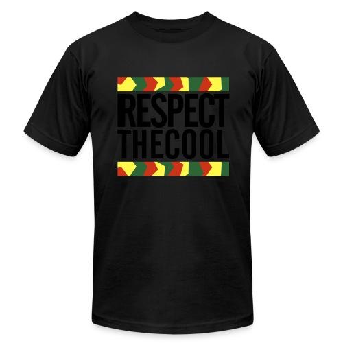 Respect The Cool Logo T-Shirt - Men's Fine Jersey T-Shirt
