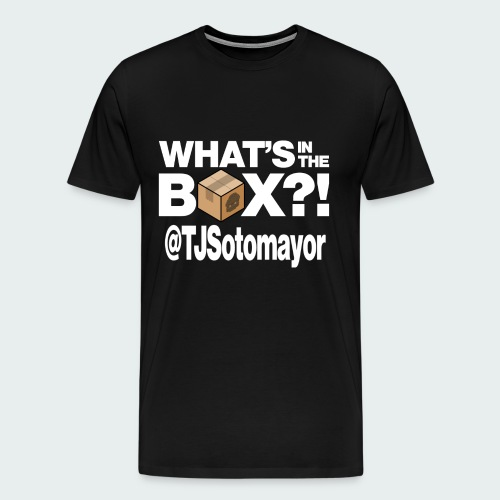 Up to 5XL- What's In The Box? - Men's Premium T-Shirt