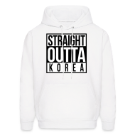 Hoodies ~ Men's Hoodie ~ Straight Outta Korea!