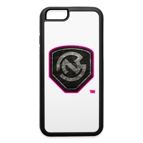 N3WB GEAR - iPhone 6 RubberCase w/ Grungy N3 LOGO PINK GLOW - iPhone 6/6s Rubber Case