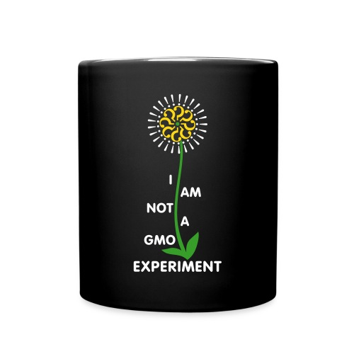 I am not a GMO experiment - mug - Full Color Mug