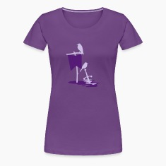 Crows on banners and swords Women's T-Shirts