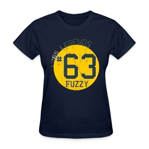 1265 Legends #63 Fuzzy Ladies T Shirt - Women's T-Shirt