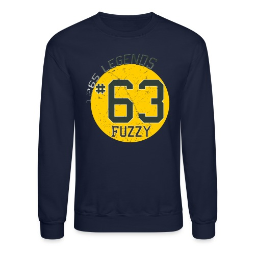 1265 Legends #63 Fuzzy Mens Sweatshirt - Crewneck Sweatshirt