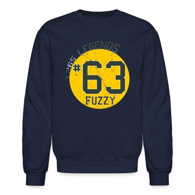 1265 Legends #63 Fuzzy Mens Sweatshirt