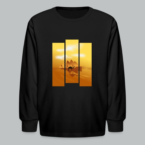 Pyramids of Giza - Kid's - Kids' Long Sleeve T-Shirt