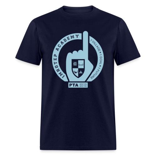 PTA Adult Blue Emblem - Men's T-Shirt