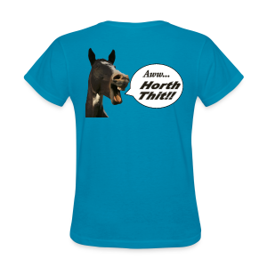 Ladies's T-Back- Horth Thit! - Women's T-Shirt