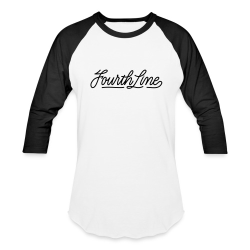Fourth Line Unisex Baseball Tee - Baseball T-Shirt