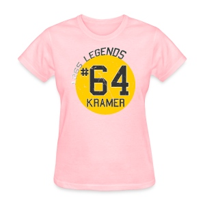 1265 Legends #64 Jerry Kramer Ladies T Shirt - Women's T-Shirt