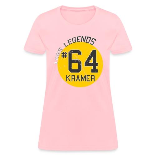 1265 Legends #64 Jerry Kramer Ladies T Shirt - Women's T-Shirt