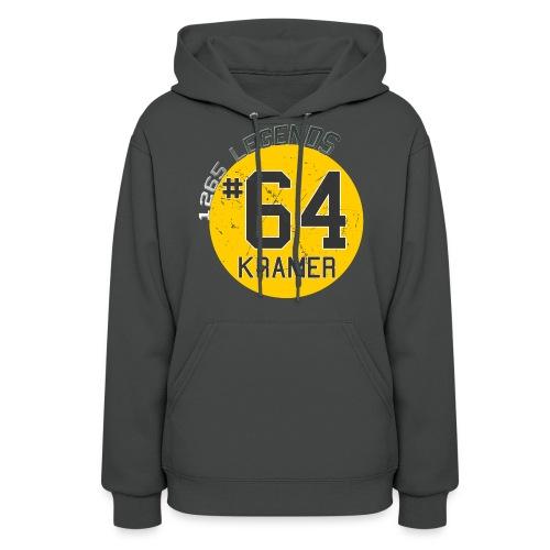 1265 Legends #64 Jerry Kramer Ladies Hoodie - Women's Hoodie