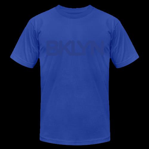BKLYN BLUES - Men's Fine Jersey T-Shirt