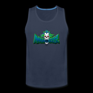 MMH BLUE GREEN - Men's Premium Tank Top - Men's Premium Tank
