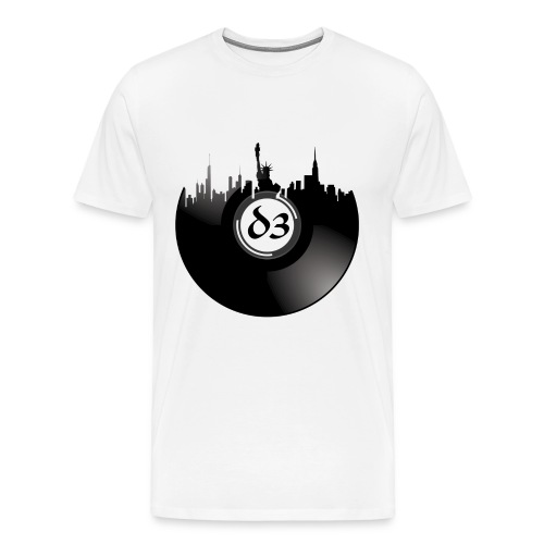 D3 NYC View - Men's Premium T-Shirt