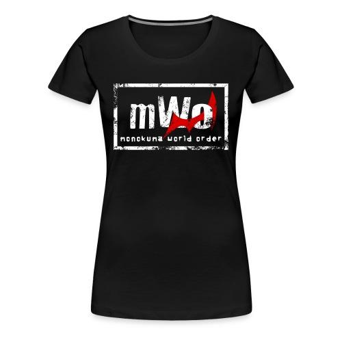 Danganwrestling - mWo, Women's Shirt - Women's Premium T-Shirt