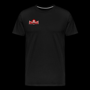 FRONT/ MMAMADHOUSE | BACK / SUPPORT LOCAL MMA - Men's Premium T-Shirt - Men's Premium T-Shirt