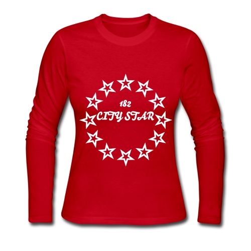 182 CITY STAR WOMEN - Women's Long Sleeve Jersey T-Shirt