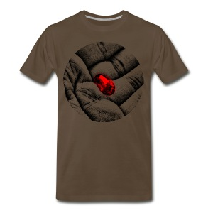 The Red Pill - Men's Premium T-Shirt