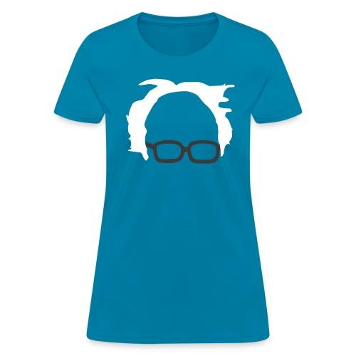 Bernie For President Silhouette - Women's - Women's T-Shirt