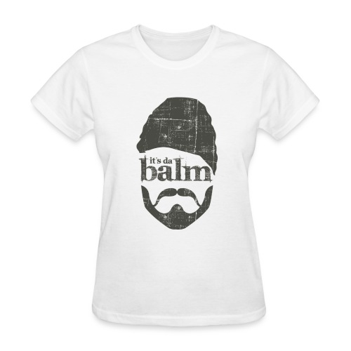 It's Da Balm Large Womens Logo Tee - Women's T-Shirt