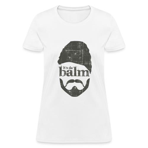 It's Da Balm Large Womens Logo Tee - Women's T-Shirt