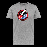 T-Shirts ~ Men's Premium T-Shirt ~ Lego Space-City grey