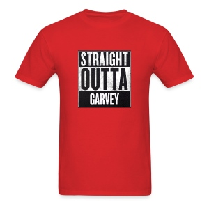Straight Outta Garvey - Men's T-Shirt