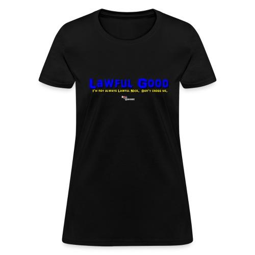 Lawful Good Alignment Ladies' Tee - Women's T-Shirt