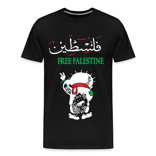 Free Palestine  - Men's Premium T-Shirt