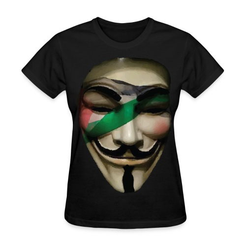 Palestine Anonymous - Women's T-Shirt