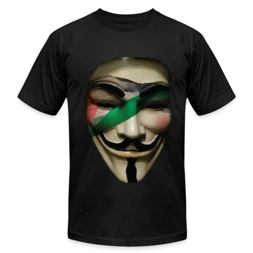 Palestine Anonymous - Men's  Jersey T-Shirt