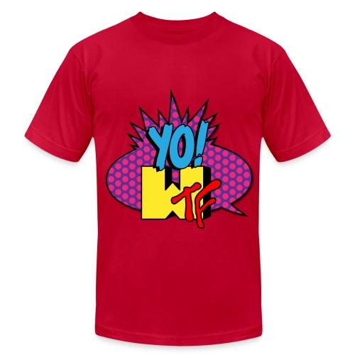 Men's Fine Jersey T-Shirt - tshirts,shopping,gifts,fashion,clothing,city,capitallcity,capitall,DONT SHOOT
