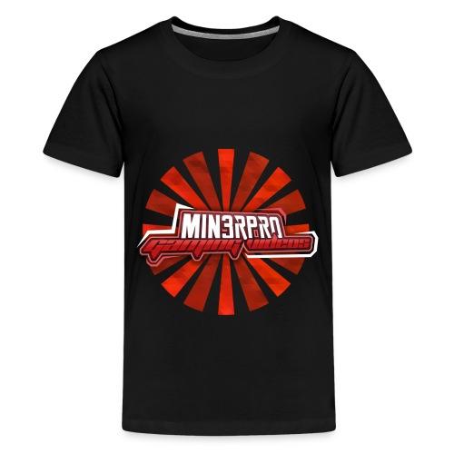 Minecraft Min3rpro Official logo in Red! - Kids' Premium T-Shirt