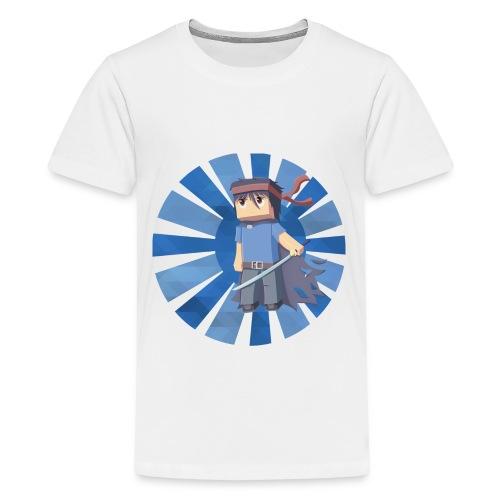 Min3rpro | Official design in Blue - Kids' Premium T-Shirt