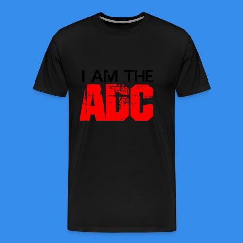 I Am The ADC - Men's T-Shirt - Men's Premium T-Shirt