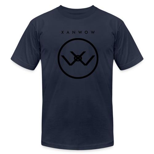 Xanwow Shirt Black Logo - Men's Fine Jersey T-Shirt