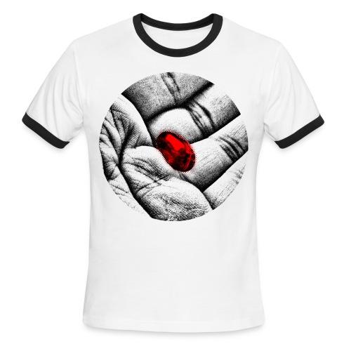 The Red Pill - Men's Ringer T-Shirt