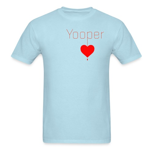 yooper_heart - Men's T-Shirt