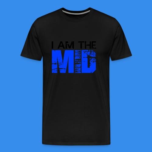 I Am The MID - Men's T-Shirt - Men's Premium T-Shirt