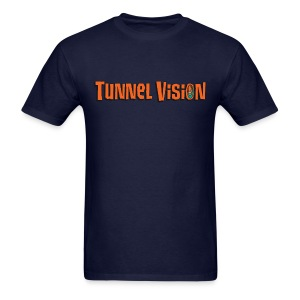 Front & Back Tunnel Vision T-Shirt Design - Men's T-Shirt